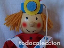 Juguetes antiguos y Juegos de colección: Marioneta de madera - Foto 2 - 94213590