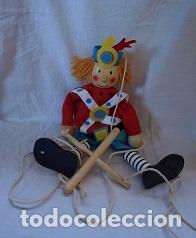 Juguetes antiguos y Juegos de colección: Marioneta de madera - Foto 3 - 94213590