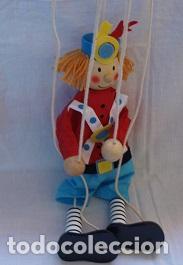 Juguetes antiguos y Juegos de colección: Marioneta de madera - Foto 4 - 94213590
