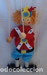 Juguetes antiguos y Juegos de colección: Marioneta de madera - Foto 5 - 94213590