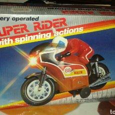 Juguetes antiguos y Juegos de colección: MOTO JUGUETE SUPER RIFAR AÑO80. Lote 95158650