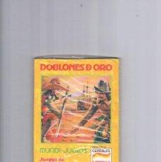 Juguetes antiguos y Juegos de colección: MUNDI JUEGOS CEREALES NESTLE JUEGOS DE TODO EL MUNDO PRECINTADO DOBLONES DE ORO. Lote 95551283