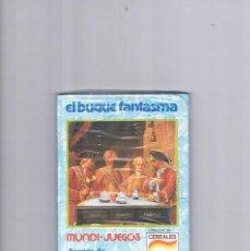 Juguetes antiguos y Juegos de colección: MUNDI JUEGOS CEREALES NESTLE JUEGOS DE TODO EL MUNDO PRECINTADO EL BUQUE FANTASMA. Lote 95551379