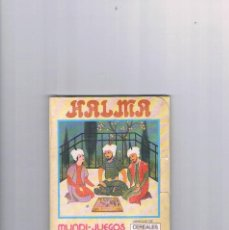 Juguetes antiguos y Juegos de colección: MUNDI JUEGOS CEREALES NESTLE JUEGOS DE TODO EL MUNDO PRECINTADO HALMA. Lote 95551463
