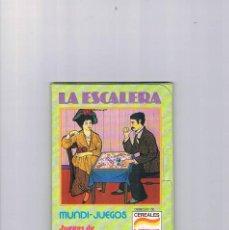 Juguetes antiguos y Juegos de colección: MUNDI JUEGOS CEREALES NESTLE JUEGOS DE TODO EL MUNDO LA ESCALERA. Lote 95551495