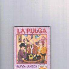 Juguetes antiguos y Juegos de colección: MUNDI JUEGOS CEREALES NESTLE JUEGOS DE TODO EL MUNDO PRECINTADO LA PULGA. Lote 95551555
