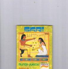 Juguetes antiguos y Juegos de colección: MUNDI JUEGOS CEREALES NESTLE JUEGOS DE TODO EL MUNDO SKRI. Lote 95551787