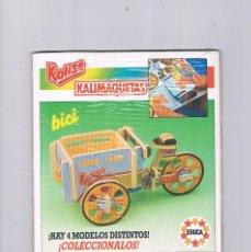 Juguetes antiguos y Juegos de colección: KALISE KALIMAQUETAS EDUCA BICI PRECINTADO. Lote 95552747