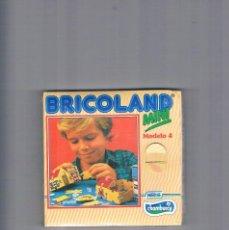 Juguetes antiguos y Juegos de colección: BRICOLAND MINI NESTLE CHAMBURCY MODELO 4. Lote 95553495