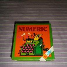 Juguetes antiguos y Juegos de colección: JUEGO LOS PEQUES BRUGUERA NUMERIC. Lote 95559647