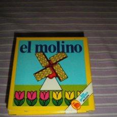 Juguetes antiguos y Juegos de colección: JUEGO LOS PEQUES BRUGUERA EL MOLINO. Lote 95559703