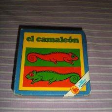 Juguetes antiguos y Juegos de colección: JUEGO LOS PEQUES BRUGUERA EL CAMALEON. Lote 95559815