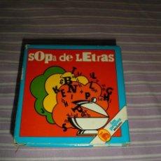 Juguetes antiguos y Juegos de colección: JUEGO LOS PEQUES BRUGUERA SOPA DE LETRAS. Lote 95559979