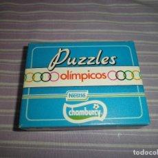 Juguetes antiguos y Juegos de colección: PUZZLES OLIMPICOS NESTLE CHAMBURCY ATLETISMO. Lote 95560827