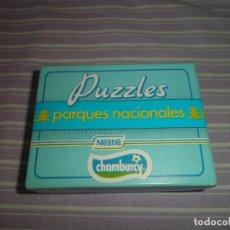 Juguetes antiguos y Juegos de colección: PUZZLES PARQUES NACIONALES NESTLE CHAMBURCY PARQUE NACIONAL DE ORDESA. Lote 95560899