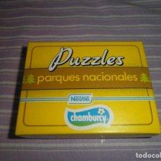Juguetes antiguos y Juegos de colección: PUZZLES PARQUES NACIONALES NESTLE CHAMBURCY PARQUE NACIONAL AIGUES TORTES. Lote 95560995