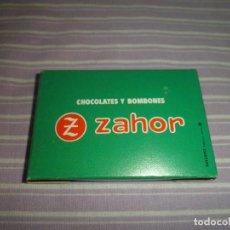 Juguetes antiguos y Juegos de colección: MINI BASKET ZAHOR CHOCOLATES Y BOMBONES OBSEQUIO. Lote 95561267
