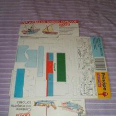 Juguetes antiguos y Juegos de colección: PRINCIPE DE BEUKELAER COLECCION DE BARCOS FAMOSOS OBSEQUIO BARCA DE ARRASTRE MAQUETA. Lote 95583835