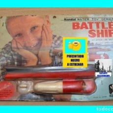 Juguetes antiguos y Juegos de colección: BANDAI BATTLESHIP - WATER TOY SERIES - AÑOS 50 - NUEVO A ESTRENAR - INENCONTRABLE. Lote 95645419
