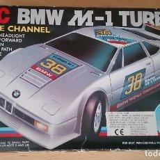Juguetes antiguos y Juegos de colección: COCHE BMW M-1 TURBO RADIO CONTROL AÑOS 80. Lote 96027607