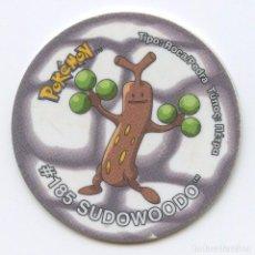 Juguetes antiguos y Juegos de colección: TAZO TAZOS POKÉMON MATUTANO - TAZO 3 Nº185 SUDOWOODO. Lote 96443211