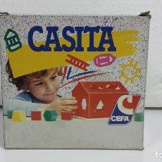 Juguetes antiguos y Juegos de colección: JUEGO NIÑOS PRESCOLAR CASITA DE CEFA AÑOS 80 A ESTRENAR. Lote 96464827