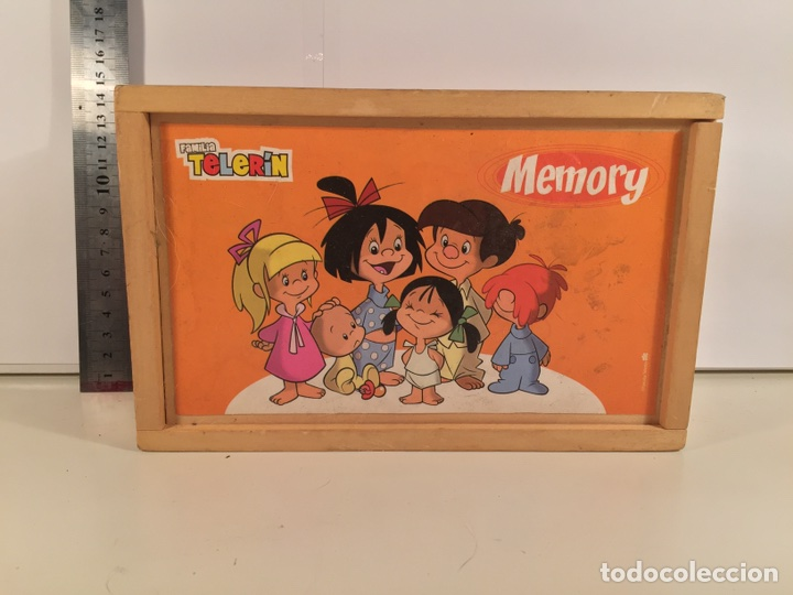 JUEGO MEMORY FAMILIA TELERIN (Juguetes - Varios)