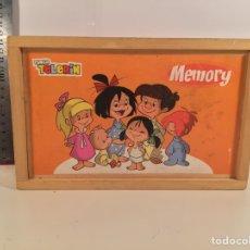 Juguetes antiguos y Juegos de colección: JUEGO MEMORY FAMILIA TELERIN. Lote 96982063