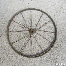 Juguetes antiguos y Juegos de colección - Rueda para coche de pedales, triciclo o bicicleta. Principios del siglo XX. - 97657812