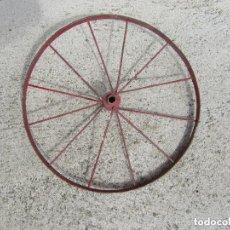 Juguetes antiguos y Juegos de colección - Rueda para coche de pedales, triciclo o bicicleta. Principios del siglo XX. - 97657828