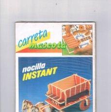 Juguetes antiguos y Juegos de colección: NOCILLA INSTANT CARRETA MASCOTA PRECINTADO ANTIGUO. Lote 97714979