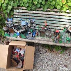 Juguetes antiguos y Juegos de colección: GRAN LOTE DE CASTILLOS DE LEGO DE VARIAS ÉPOCAS. (ENVÍO 35 EUR). Lote 98960151