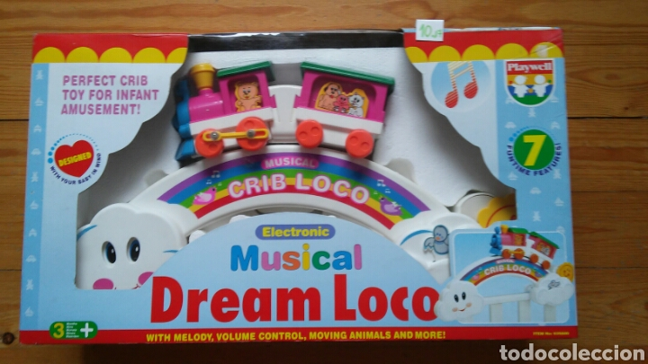 MUSICAL DE CUNA TREN DREAM LOCO.PLAYWELL 90S.NUEVO EN CAJA SIN ABRIR. (Juguetes - Varios)