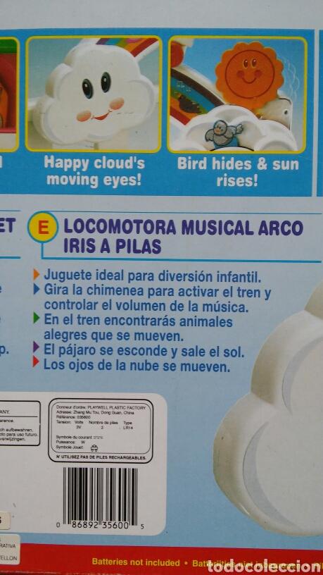 Juguetes antiguos y Juegos de colección: MUSICAL DE CUNA TREN DREAM LOCO.PLAYWELL 90S.NUEVO EN CAJA SIN ABRIR. - Foto 2 - 99850986