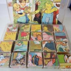 Juguetes antiguos y Juegos de colección: ANTIGUO JUEGO PUZZLE ROMPECABEZAS.. Lote 100426039