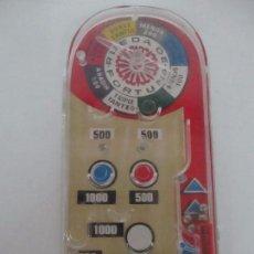 Juguetes antiguos y Juegos de colección: PIMBALL - JUGUETE ANTIGUO - J. PIQUE - 5 BOLITAS - AÑOS 80 - FUNCIONA. Lote 100621299