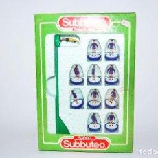 Juguetes antiguos y Juegos de colección: SUBBUTEO 63000 472 BARCELONA 80'S RARO CON PLATAFORMA BLANCA. Lote 100621311
