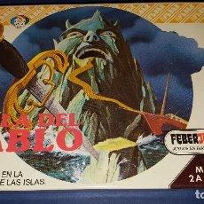 Juguetes antiguos y Juegos de colección: JUEGO DE MESA FEBER REF 905 LA ISLA DEL DIABLO FEBERJUEGOS PRECINTADO. Lote 100633415