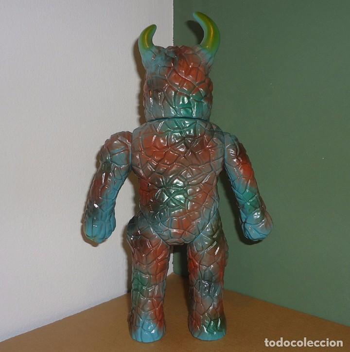 Juguetes antiguos y Juegos de colección: Kaiju Ken - Alien Shine (Silver Kamen) - Figura de vinilo japonés (Sofubi) - Foto 3 - 100650859