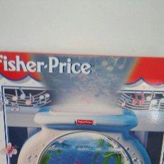 Juguetes antiguos y Juegos de colección: DUERME BEBÉS ACUARIO MUSICAL PROYECTOR LUZ.FISHER PRICE 1999.NUEVO EN CAJA SIN ABRIR.. Lote 101653419