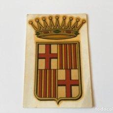 Juguetes antiguos y Juegos de colección: CALCOMANÍA NUBIOLA ESCUDO HERÁLDICO CIUDAD BARCELONA CATALUNYA CATALUÑA... ZKR. Lote 104793431