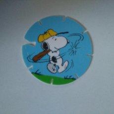Juguetes antiguos y Juegos de colección: TAZO SNOOPY CAPS - GREFUSA #2. Lote 102747179