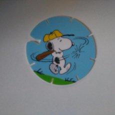 Juguetes antiguos y Juegos de colección: TAZO SNOOPY CAPS - GREFUSA #2. Lote 102747195
