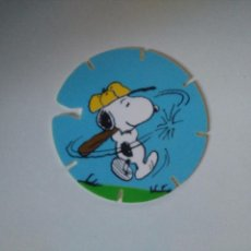 Juguetes antiguos y Juegos de colección: TAZO SNOOPY CAPS - GREFUSA #2. Lote 102747211