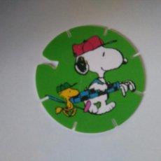Juguetes antiguos y Juegos de colección: TAZO SNOOPY CAPS - GREFUSA #11. Lote 102747399
