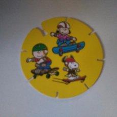 Juguetes antiguos y Juegos de colección: TAZO SNOOPY CAPS - GREFUSA #42. Lote 102765715
