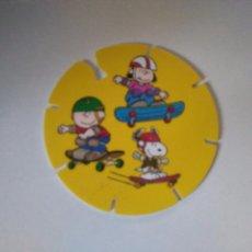 Juguetes antiguos y Juegos de colección: TAZO SNOOPY CAPS - GREFUSA #42. Lote 102765823