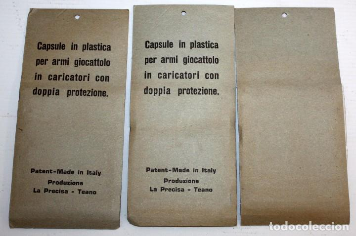 Juguetes antiguos y Juegos de colección: GRAN LOTE DE 100 CAJAS CON FULMINANTES PARA PISTOLAS DE JUGUETE. AÑOS 60-70. BLISTER - Foto 4 - 287226493