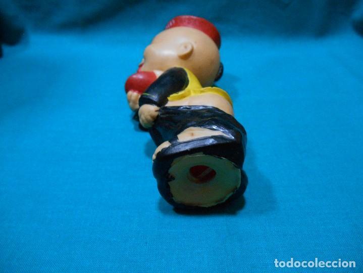 Juguetes antiguos y Juegos de colección: ANTIGUO CHINITO MANDARIN - PUBLICIDAD DE FLAN MANDARIN - MUÑECO DE GOMA - AÑOS 60 - - Foto 5 - 103375695