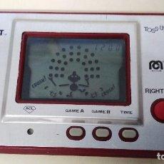 Juguetes antiguos y Juegos de colección: ANTIGUA MAQUINITA LAC DE NINTENDO GAME WATCH TIME OUT TOSS- UP . Lote 103478443